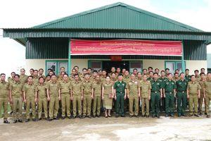 Tập huấn nghiệp vụ phòng, chống tội phạm cho Công an 2 tỉnh Attapeu và Sekong