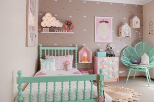 Phòng ngủ có '1 không 2' dành cho bé