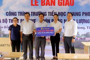 Tập đoàn TECCO tài trợ trường tiểu học trên 3 tỷ đồng ở huyện Quế Phong