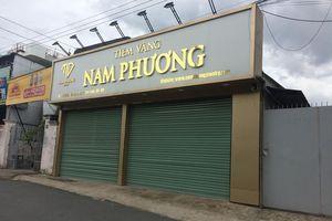 Bắt kẻ cướp tiệm vàng tại Đồng Nai