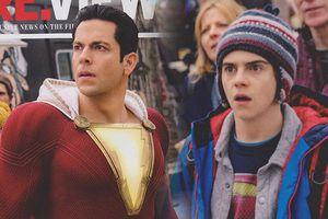 DC tung ảnh hot của siêu anh hùng Aquaman và Shazam