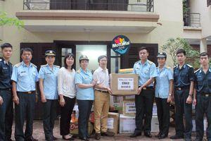 Sư đoàn 361 ủng hộ gần 70 thùng, túi đồ cho Chương trình Mottainai 2018