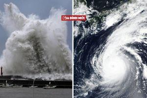 Siêu bão Jebi đổ bộ Nhật Bản, cảnh tượng kinh hoàng như trong phim tận thế