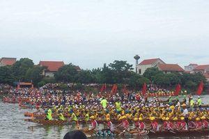 Quảng Bình: Sôi nổi giải đua thuyền truyền thống trên quê hương đại tướng Võ Nguyên Giáp
