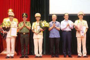 TP. HCM bổ nhiệm 4 Đại tá làm Phó giám đốc công an, Hà Nội có 8 Phó giám đốc công an