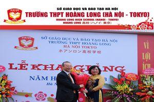 Trường THPT Hoàng Long – Hà Nội Tokyo quảng bá mô hình giáo dục tiên tiến