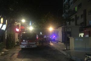 Bà Rịa – Vũng Tàu: Cháy trạm biến thế chung cư, người dân hoảng loạn