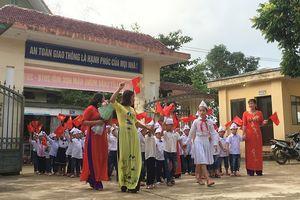 Khai giảng ở ngôi trường xa nhất Thủ đô