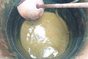 Sống khổ nơi nguồn nước ngầm nhiễm mặn