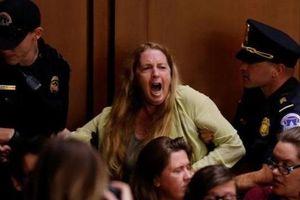 Hỗn loạn ở phiên điều trần ứng viên thẩm phán Tòa Tối cao Mỹ