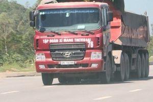 Nghệ An: CSGT phát hiện 16 xe quá tải 40% trên tuyến đường N5