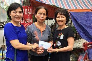 Người phụ nữ năng nổ hoạt động từ thiện
