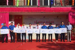 Trao tặng 280 xe đạp cho học sinh có hoàn cảnh khó khăn tại Bắc Giang và Bắc Ninh