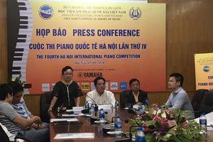 82 thí sinh đến từ 9 quốc gia và vùng lãnh thổ tham gia Cuộc thi Piano quốc tế Hà Nội