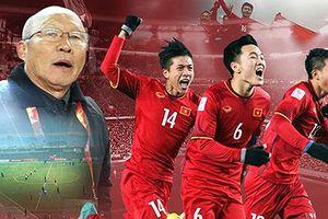 Khoảnh khắc đẹp nhất trong cuộc 'viễn chinh' của Olympic Việt Nam