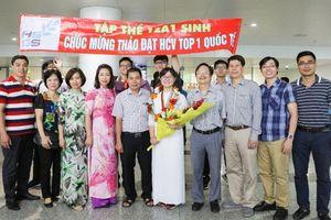 Nữ sinh Việt Nam đạt điểm cao nhất trong một kỳ thi Olympic quốc tế