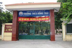 Năm học mới ở Trường THCS Đông Thái (quận Tây Hồ, Hà Nội)