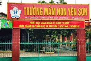 Ninh Bình: Trường mầm non bị 'tố' thu sai phạm trả lại hơn 230 triệu đồng cho phụ huynh
