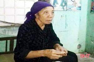 Cụ bà 69 tuổi nhặt phế liệu mất tích bí ẩn gần 10 ngày