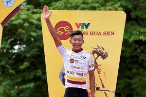 Giải xe đạp quốc tế VTV Cup 2018: Nguyễn Đắc Thời tạo cuộc đổi ngôi