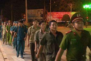 Rèn quân kết hợp tuần tra bảo vệ
