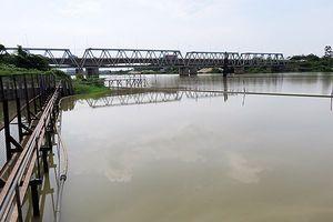 Đà Nẵng: Sông Cầu Đỏ nhiễm mặn nặng khiến lưu lượng cấp nước sinh hoạt yếu