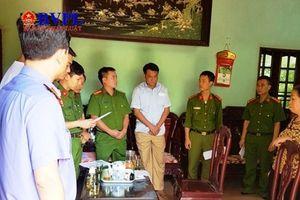 Phê chuẩn khởi tố, bắt tạm giam Trưởng phòng tài nguyên môi trường huyện Thanh Liêm