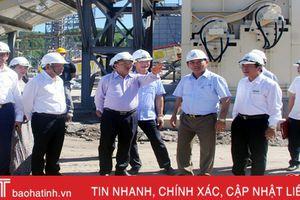 Bí thư Tỉnh ủy thăm Dự án Nhà máy gỗ MDF, HDF Thanh Thành Đạt