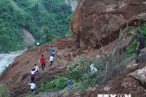 Nhói lòng cảnh học sinh tiểu học phải 'cắt núi' đến trường