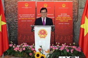 Kỷ niệm 73 năm Quốc khánh Việt Nam tại Thụy Sĩ và Algeria