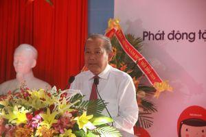 Phó Thủ tướng dự lễ khai giảng tại ngôi trường cổ nhất Đà Nẵng