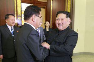Các phái viên Hàn Quốc đã gặp mặt Kim Jong-un