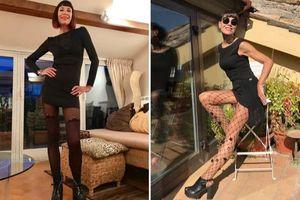 Kinh ngạc cụ bà 70 tuổi có vóc dáng chuẩn như siêu mẫu khiến hội con gái phải ghen tỵ