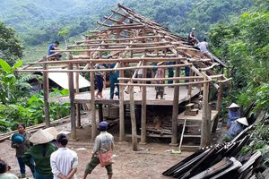 Hòa Bình: Chung tay khắc phục hậu quả mưa lũ