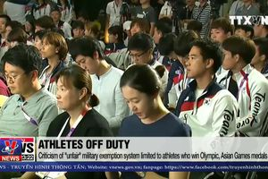 Người Hàn phản đối miễn nghĩa vụ quân sự cho vận động viên