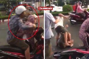 'Người hùng' xuất hiện xử đẹp anh chồng đánh vợ dã man trên phố