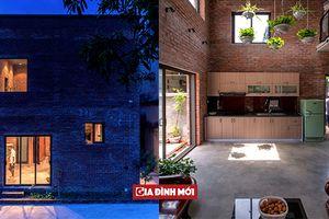 Ngôi nhà gạch đơn giản nhưng nổi bật giữa phố thị với chi phí rất rẻ