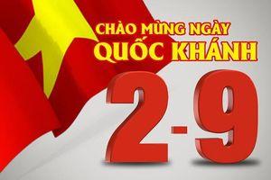 Điện mừng kỷ niệm 73 năm Quốc khánh nước Cộng hòa Xã hội Chủ nghĩa Việt Nam