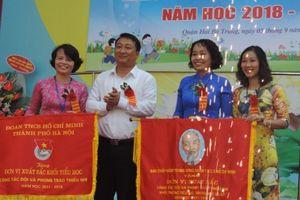 Thầy trò trường Tiểu học Lương Yên rạng rỡ ngày khai trường