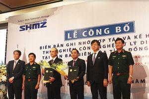 Hợp tác thử nghiệm công nghệ xử lý dioxin ở sân bay Biên Hòa