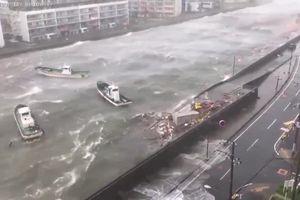 Siêu bão Jebi tàn phá miền Tây Nhật Bản