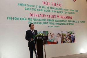 Tín dụng cho giảm nghèo, Việt Nam thành một điển hình trên thế giới