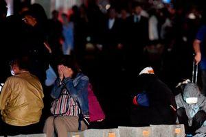 Sau siêu bão, người dân Nhật Bản lại 'thất thần' trong động đất mạnh
