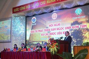 Thủ tướng Nguyễn Xuân Phúc: Sâm Ngọc Linh phải đạt giá trị xuất khẩu tỷ USD