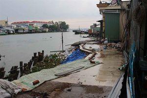 Cần Thơ: Hơn 2.440 tỷ đồng xây 9 tuyến kè ngăn chặn sạt lở bờ sông