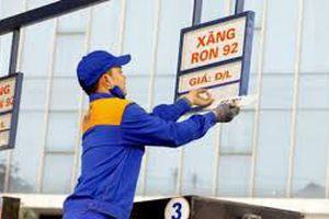 Giá xăng dầu tăng từ 15h chiều nay