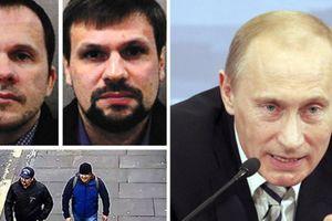 Điện Kremlin lên tiếng về 2 nghi phạm đầu độc cựu điệp viên Nga