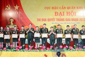 Cục Hậu cần Quân khu 3 tổ chức Đại hội Thi đua Quyết thắng giai đoạn 2013-2018