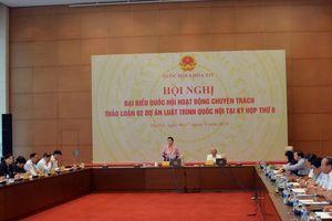 Đại biểu Quốc hội chuyên trách cho ý kiến về dự án Luật Phòng, chống tham nhũng (sửa đổi)