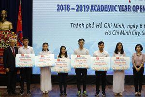 Trường Đại học Khoa học xã hội và nhân văn TP Hồ Chí Minh khai giảng năm học 2018-2019